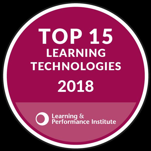 Netex en el Top 15 de los Proveedores de Tecnologías de Aprendizaje de Mayor Rendimiento